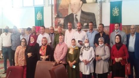 انتخاب أسعد عبد المعيد رئيسا لسيدي بنور